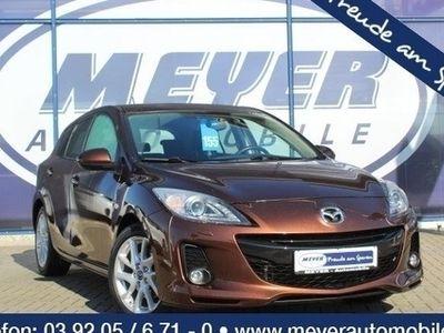 gebraucht Mazda 3 2.2 CD Sport-Line Bi-Xenon/Navi/SHZ/PDC
