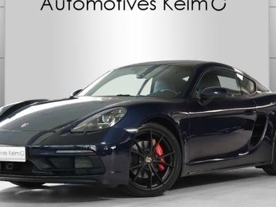 gebraucht Porsche 718 Cayman CaymanGTS LED PCM KAM CONNECT+ ABSTANDSTEMP.
