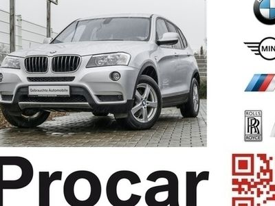 käytetty BMW X3 xDrive20d