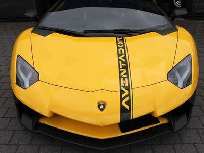 gebraucht Lamborghini Aventador LP 750-4 SV Roadster Novitec Deutsch