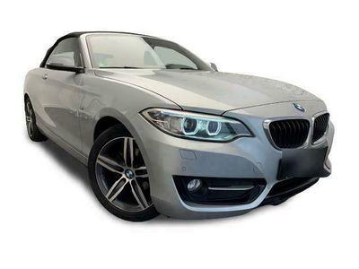 gebraucht BMW 218 d CABRIO SPORT LINE LEDER NAVI PDC AUTOMATIK