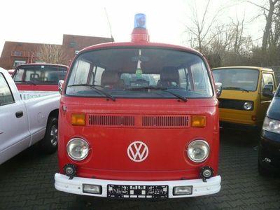 gebraucht VW T2 Kombi * Doppel-Schiebetürer * ex. Feuerwehr