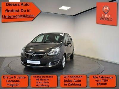 gebraucht Opel Meriva B 1.4 Turbo EU6 drive Einparkhilfe, Sitzh