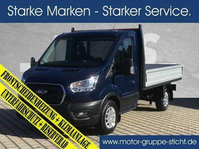 gebraucht Ford Transit 350L2 Pritsche #AHK #Beifahrereinzel, Tageszulassung, bei MGS Motor Gruppe Sticht GmbH & Co. KG