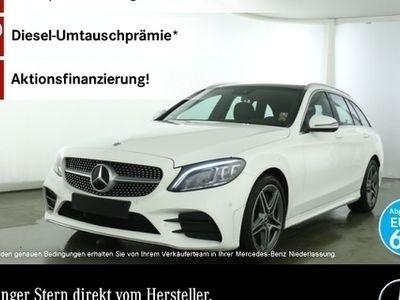 gebraucht Mercedes C300 T AMG Pano Multibeam COMAND Keyl-GO Kamera