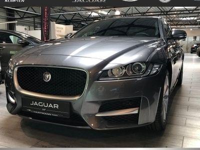 gebraucht Jaguar XF 20d AWD R-Sport Limousine (Navi Xenon Klima el. Fe