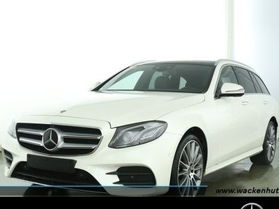 gebraucht Mercedes E220 4M T AMG 360°+COMAND+PANO+MULTI+BUSINESS