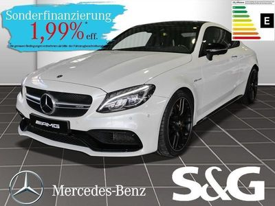 gebraucht Mercedes C63 AMG AMG S Coupe Distronic/Pano/360°/COMAND/LED/