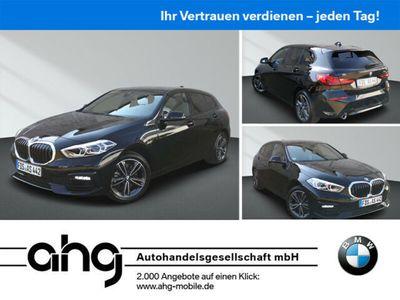 gebraucht BMW 118 i Aut. Sport Line Business Paket Lichtpaket LED-Scheinwerfer Live Cockpit Plus