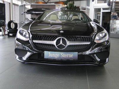 gebraucht Mercedes 200 SLCRoadster Panorama-Dach AIRSCARF Navi Led
