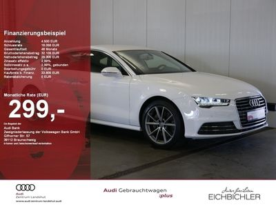 gebraucht Audi A7 Sportback 3.0 TDI S tronic MMI Navi plus LED Teilleder Automatik Sportsitze