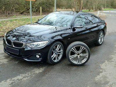 gebraucht BMW 428 Gran Coupé Sport Line, HUD, 8fach bereift als Sportwagen/Coupé in Hamburg