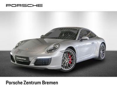 gebraucht Porsche 991 911 4S Leder Navi LED Klimaautomatik Sportabgas
