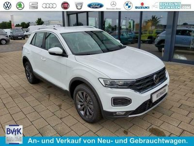 gebraucht VW T-Roc 1.5 TSI DSG Sport / ACC LED AHK abn.
