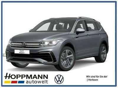 gebraucht VW Tiguan Allspace R-Line 2,0 TDI4MOTION 200 PS AHK