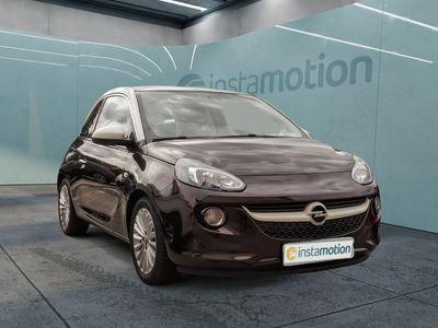 gebraucht Opel Adam AdamGlam 1.4 Panoramadach Navigations-Link-Tom Tempomat Klima Einparkhilfe Alu+Allwetterreifen