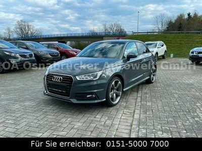 gebraucht Audi A1 Sportback Neu S-Line Xenon Navi Leder RotorFelgen