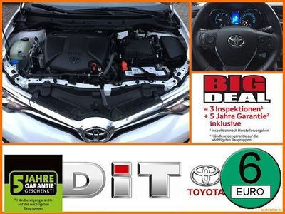 gebraucht Toyota Auris 1,6l Design Edition Navi Klimaautomatik Temp