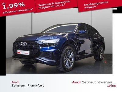 gebraucht Audi Q8 50 TDI quattro tiptronic S Line Matrix-LED St HeadUp MMIPlus Luftfed. PreSense Navi Pano