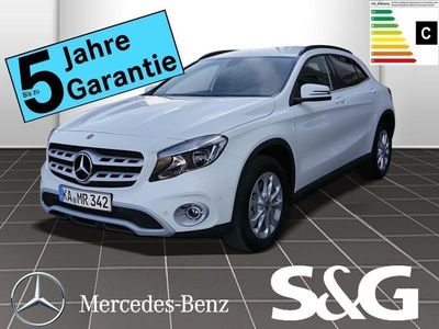 gebraucht Mercedes GLA200 STYLE 7G-DCT/17LMR/Navi/Rückfahrk/Sitzh