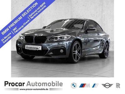 gebraucht BMW 230 i Steptronic Coupe M Sport Sport Aut. PDC RFT