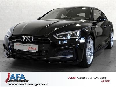 gebraucht Audi A5 Sportback Sport 3,0 TDI qu. tiptr. 2x S Line,Navi+,Opt.Schwarz,Wechsel/Umweltprämie