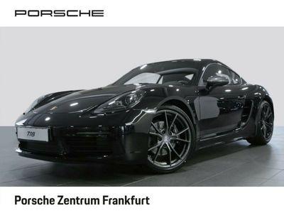 gebraucht Porsche 718 Cayman T Connect Sport-Tex PDLSschwarz