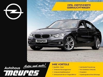 gebraucht BMW 320 dA Sport NAVI LED SCHIEBEDACH AHK TEMPOMAT -