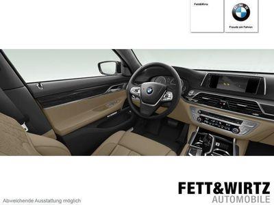 gebraucht BMW 740L d xDrive 19''LM TV Standhz. DAB HUD H&K Lase