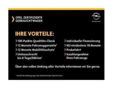gebraucht Opel Corsa E Edition 1.2 RDC Klima CD AUX USB ESP Sei