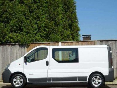 gebraucht Nissan Primastar 1.9 DCi Lang Doppelkabine Klima AHK