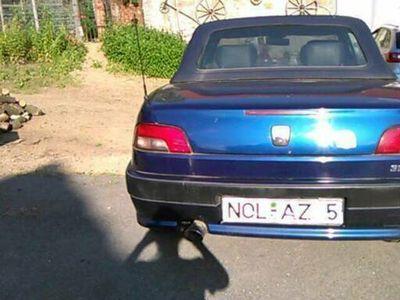 gebraucht Peugeot 306 Cabriolet 1,6 Liter blaumetall...