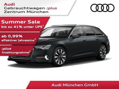 gebraucht Audi A6 Avant 45 TDI qu. tiptr. sport Leder/Navi+/AHK