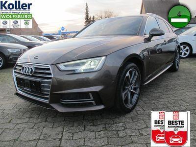 gebraucht Audi A4 Avant 2.0 TFSI Quattro S line AHK