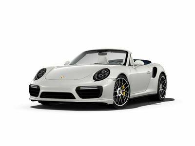 gebraucht Porsche 911 Turbo S Cabriolet 991 3.8 LED Bi-Color Leder