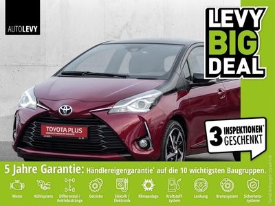 gebraucht Toyota Yaris 1.5 Style Selection Red