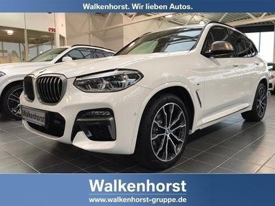 gebraucht BMW X3 M40i EU6d-T Park-Assistent Leder LED Navi Keyless Kurvenlicht e-Sitze HUD ACC Parklenkass.