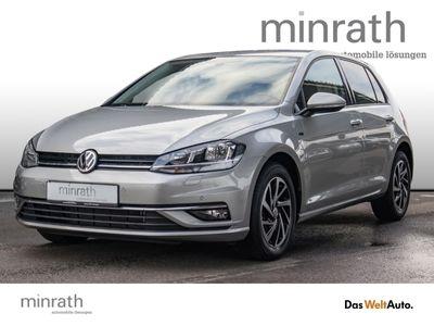 gebraucht VW Golf VII Join 1.6 TDI BMT EU6d-T Leder Navi ACC Fernlichtass. PDC