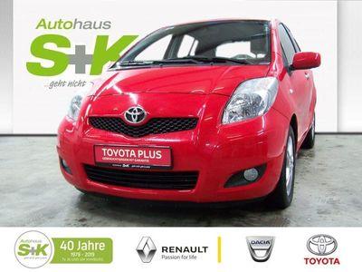 gebraucht Toyota Yaris Executive 5-TüR 1,33 6-GANG ABS ESP SERVO