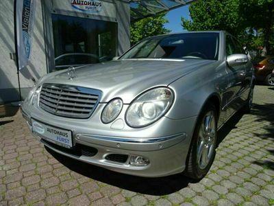 gebraucht Mercedes E500 Lim. Aut. Navi Leder Xenon DVD GSD Voll als Limousine in Fürstenfeldbruck (Kreisstadt München)
