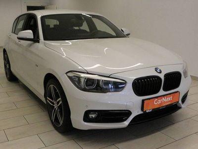 gebraucht BMW 120 1 Serie d Aut. Sport Line LED PDC