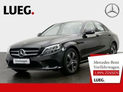 gebraucht Mercedes C160 AVANTG+9G+LED+NAVI+PARK/SP-P+DURCHL+NP42T