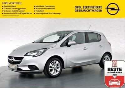 gebraucht Opel Corsa E 1.2 Active, Spiegelnavigation, Klimaanlage, Nebelscheinwerfer