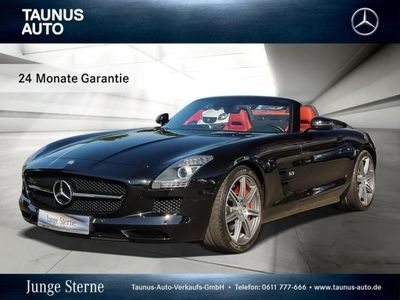 gebraucht Mercedes SLS AMG ROADSTER COMAND SCHWEIZ-IMPORT Airscarf