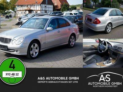 gebraucht Mercedes E500 4-Matic Automatik Xenon Leder Schiebedach