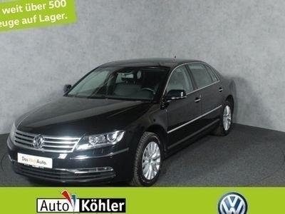 gebraucht VW Phaeton 5-Sitzer LR TDi 4M elektr. 12-Wege Sitze L