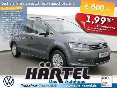 gebraucht VW Sharan COMFORTLINE 7-SITZER TDI DSG (+7 SITZE +NAV