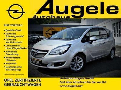 gebraucht Opel Meriva B 1.4 Turbo Drive Navigation, Klimaauto.