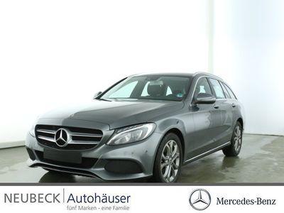 gebraucht Mercedes C220 d T-Modell AVANTGARDE /Navi/Autom./LED Klima/BC