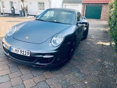 gebraucht Porsche 911 Turbo Cabriolet Tiptronic S grau foliert Facelift